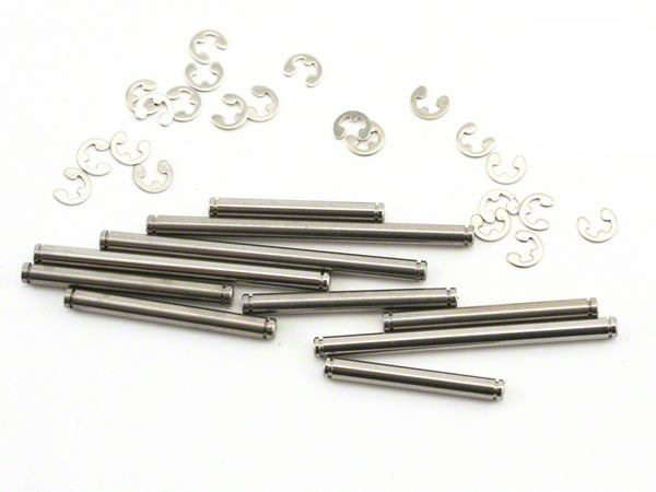 Traxxas Stainless Steel Susp Pins and E Clips (Set) 2739