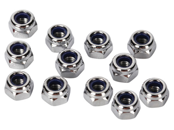 Image Of Traxxas Nuts, 3mm Nylon Locking