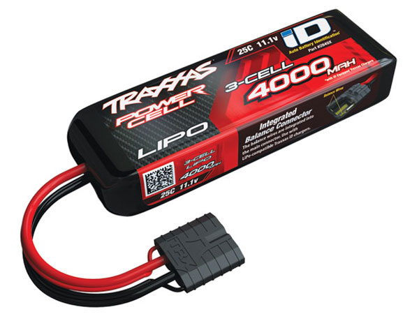 Traxxas 4000mah 11.1v 3-Cell 25C LiPo ID Battery 2849X