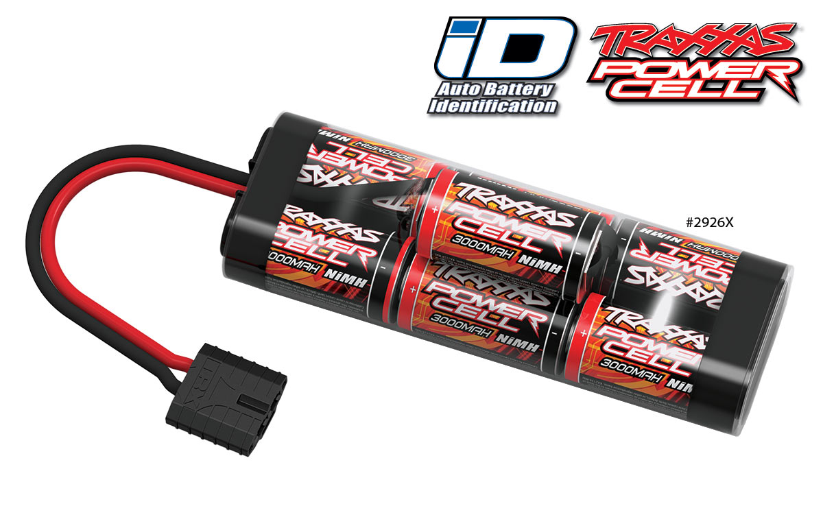 Image Of Traxxas Power Cell 3000 Hump Pack ID Connector 8.4V