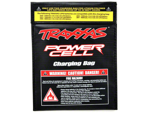 Traxxas Charging Bag, 30watt Hours Rated 2929