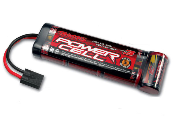 Image Of Traxxas Battery, Series 3 Power Cell, 3300mAh (NiMH, 8.4V flat)