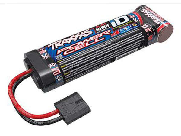 Image Of Traxxas Battery, Series 4 Power Cell iD, 4200mAh (NiMH, 8.4V flat)