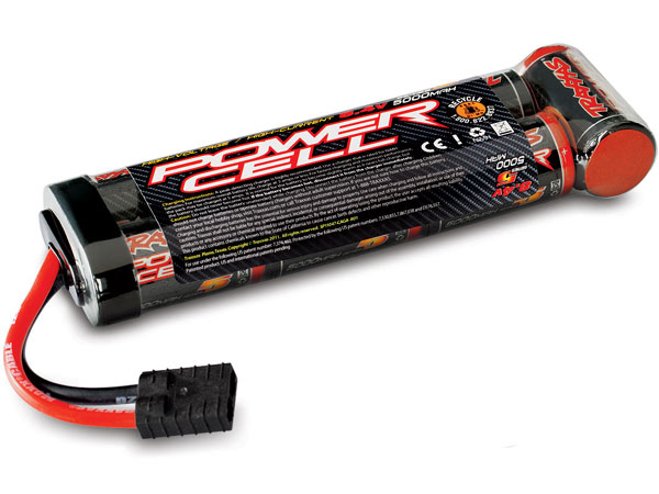 Image Of Traxxas Battery, Series 5 Power Cell, 5000mAh (NiMH, 8.4V Flat)