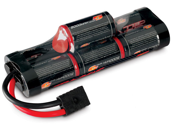 Image Of Traxxas Battery, Series 5 Power Cell, 5000mAh (NiMH, 8.4V hump)