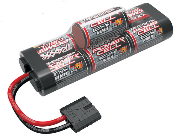Traxxas Battery, Series 5 Power Cell ID, 5000mAh (NiMH, 8.4V hump) 2961X