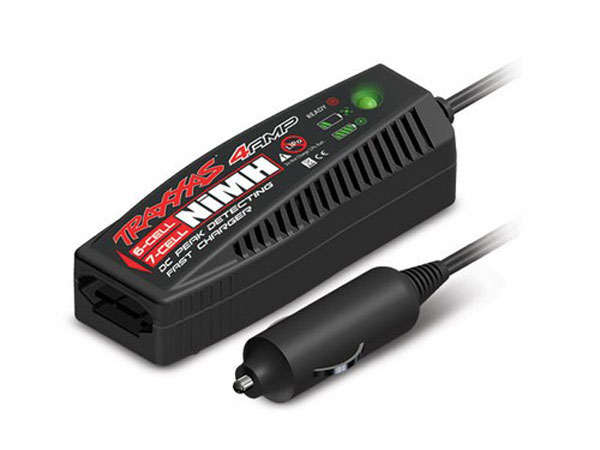 Traxxas 4 amp DC Charger (6 - 7 cell, 7.2 - 8.4 volt, NiMH) 2975