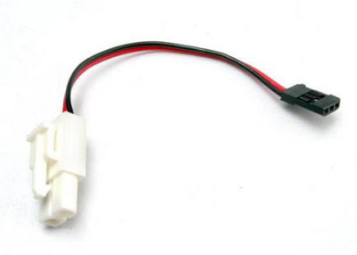 Traxxas Plug Adapter (For TRX Power Charger to charge 7.2V Packs) 3029