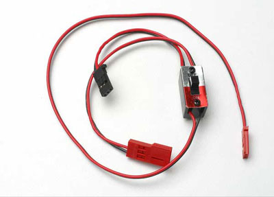 Traxxas Switch Wiring Harness for RX Power Pack 3034
