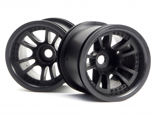 HPI Split 5 Truck Wheel (black/2pcs) 3051