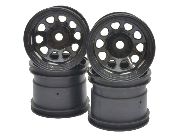 HPI Classic King Wheel Black (2.2in/2pcs) (No Packaging) (Ex-Display) 3061-NP