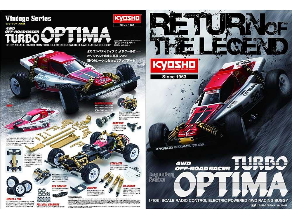 Kyosho Turbo Optima Kit 2019 30619