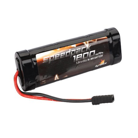 Image Of Dynamite Speed Pack 1800mAh NiMH 6 Cell Flat Pack with Traxxas Connector