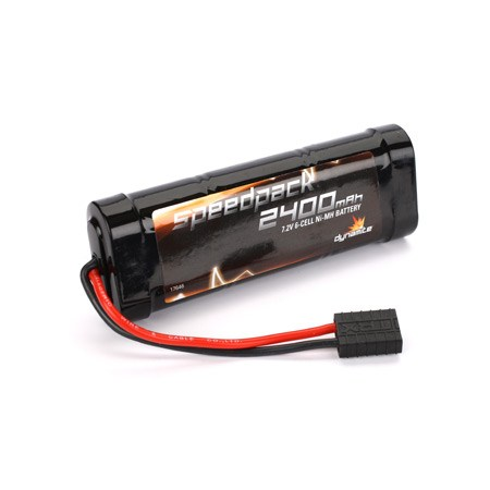 Image Of Dynamite Speed Pack 2400mAh NiMH 6 Cell Flat Pack with Traxxas Connector