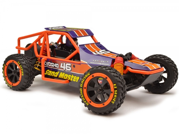Image Of Kyosho Sand Master RTR (Purple)