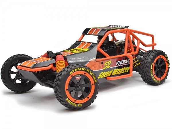 Image Of Kyosho Sand Master Assembly Kit (Black)