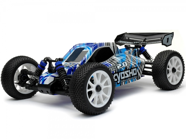 Image Of Kyosho DBX 2.0 Buggy Readyset (Blue)