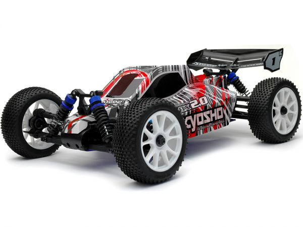 Image Of Kyosho DBX 2.0 Buggy Readyset (Red)