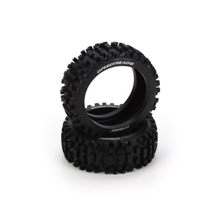 Dynamite Speed Treads 1/8 Buggy Trigger Tyres(2) DYN8278