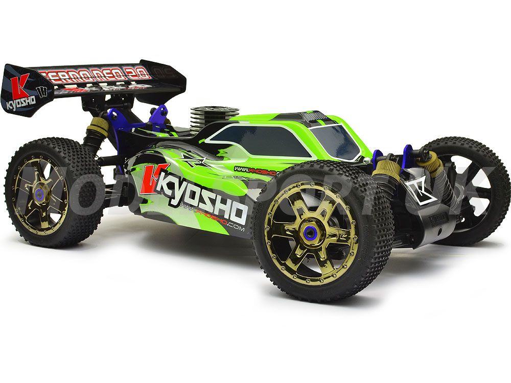 kyosho inferno neo 2 0 readyset green 31684t2 ebay. Black Bedroom Furniture Sets. Home Design Ideas