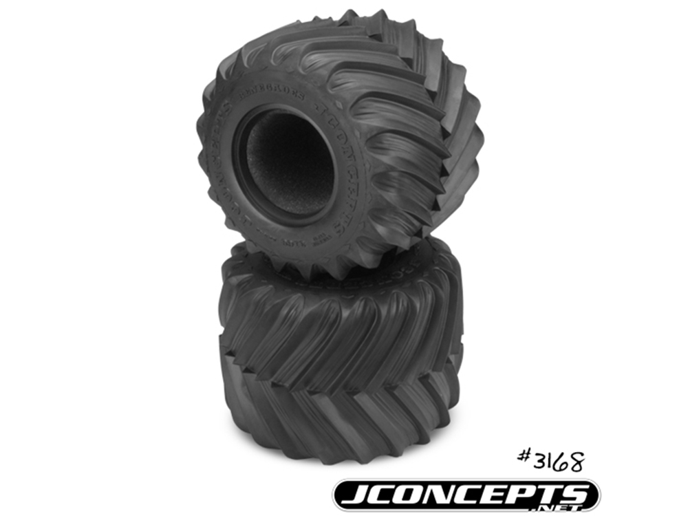 Monster Truck Tires >> J Concepts Renegades Monster Truck Tyres For 2 6in X 3 6in Wheels