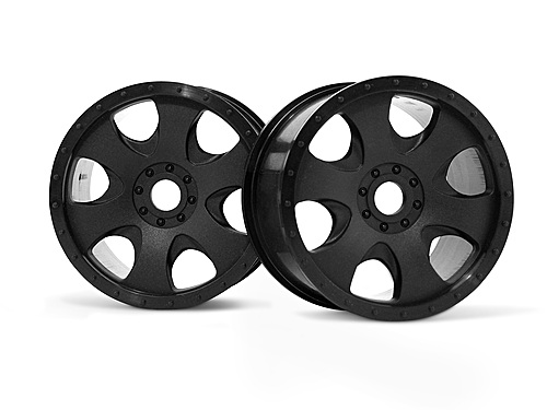 HPI Warlock Wheel Black (83x56mm/2pcs) 3191