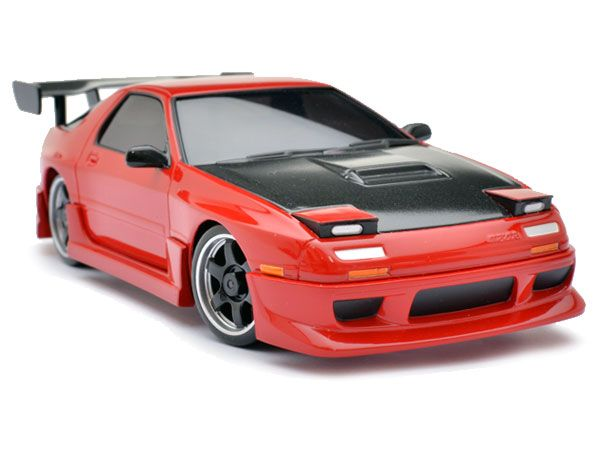 Image Of Kyosho Mini-Z MA-020S AWD Mazda Savanna RX-7 FC3S Aero Red