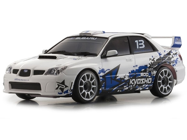 Image Of Kyosho MINI-Z MR-03S Subaru Impreza KX1 with LEDs