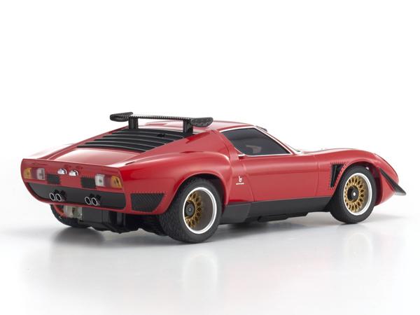 Kyosho Mr03 Sports 2 Lamborghini Jota Svr Red N Rm Kt19