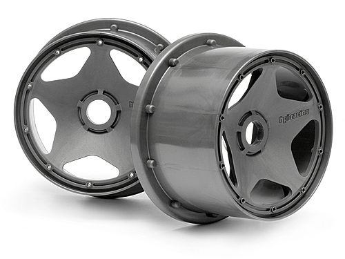 Image Of HPI Super Star Wheel Gunmetal (120x75mm)