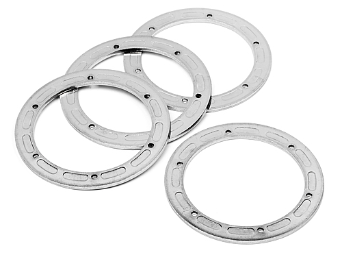 HPI Bead Lock Ring 6 Hole (silver/47x62x2.0mm/2pcs) 3230