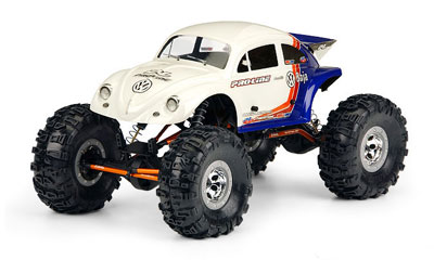 Pro-Line Volkswagen Baja Bug Body For 1/10 Rock Crawlers PL3238-40
