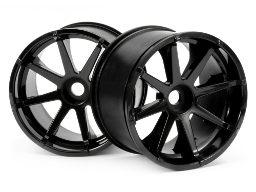 HPI Blast Wheel Black (115x70mm 7inch/2pcs) 3256