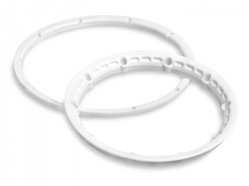Image Of HPI Heavy Duty Wheel Bead Lock Rings (white/for 2 Wheels)