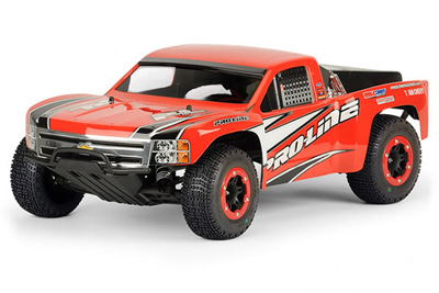 Pro-Line Chevy Silverado 1500 Bodyshell for Slash, Slash 4x4 and SC10 PL3307-60