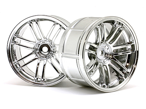 HPI Lp32 Wheel Rays Volkracing Re30 Chrome (2pcs) 3341