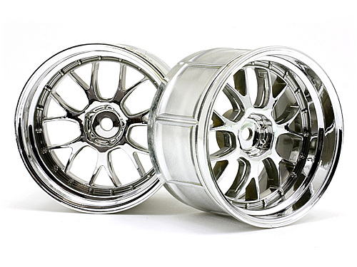 HPI Lp35 Lm-r Wheel Chrome (2pcs) 33461