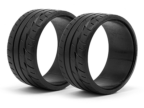 HPI Lp32 T-drift Tire Bridgestone Potenza Re-11 (2pcs) 33469