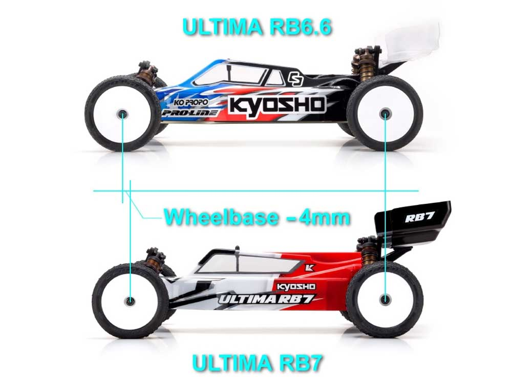 Kyosho UMB06 Clear Body Ultima RB7