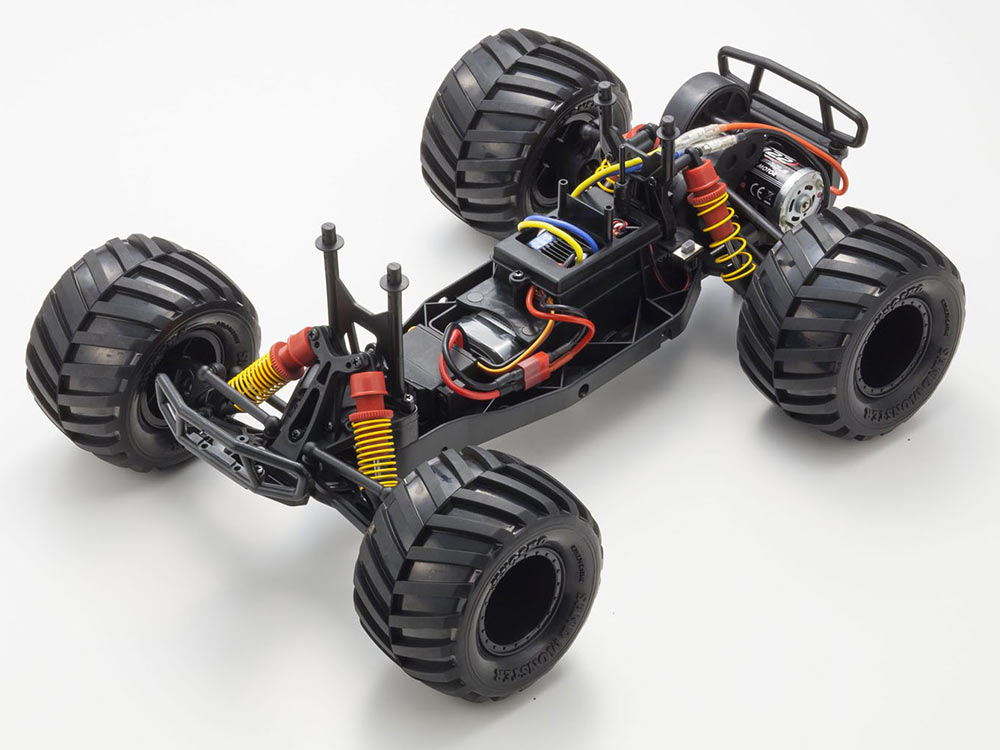 Kyosho Monster Tracker 1:10 EP Buggy Ready Set - T1 Green/Grey 34403T1