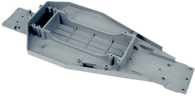 Traxxas Lower Chassis (Grey) 3722A