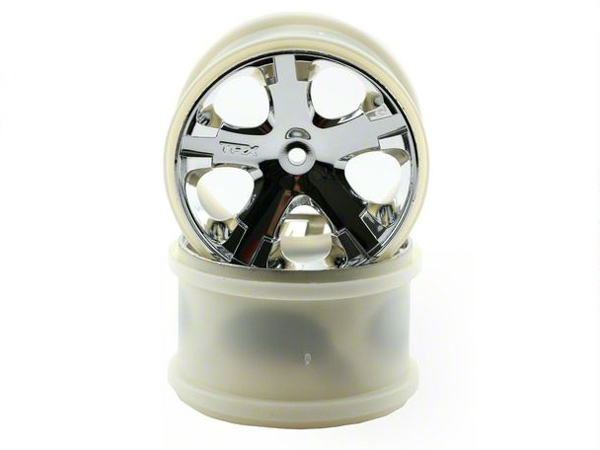 Traxxas All-Star Wheel 2.8 Chrome Rear 3772