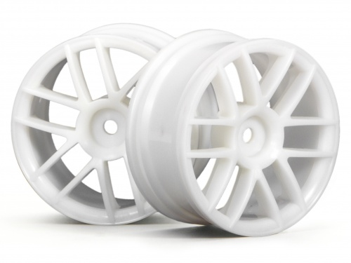 HPI Split 6 Wheel 26mm White 3795