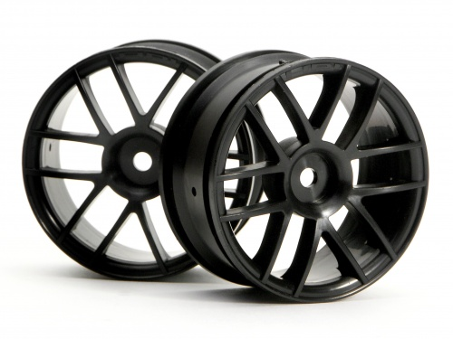 HPI Split 6 Wheel 26mm Black 3796