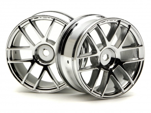 HPI Split 6 Wheel 26mm Chrome 3797
