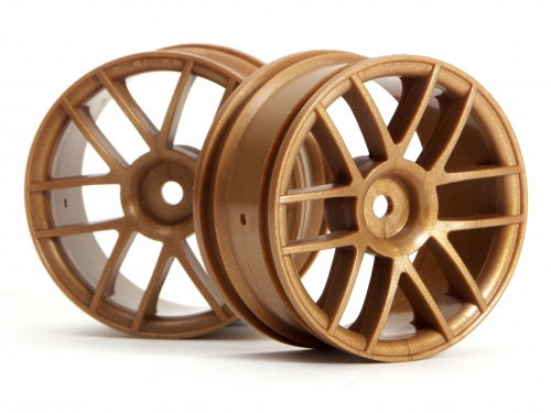 HPI Split 6 Wheel 26mm Gold - Discontinued - Use 3796 or 3797 3798