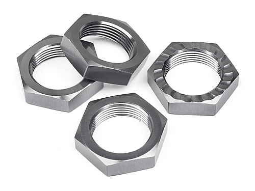 HPI Wheel Nut M18xhex24mm(4pcs) 38308