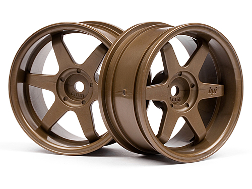 HPI Te37 Wheel 26mm Bronze (6mm Offset) 3848