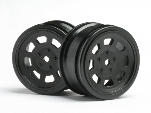 HPI Vintage Stock Car Wheel 26mm Black (0mm Offset) 3854