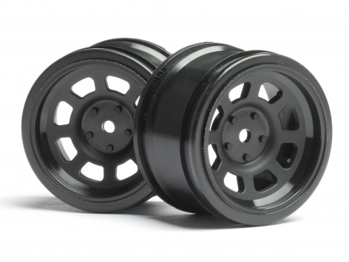 HPI Vintage Stock Car Wheel 31mm Black (6mm Offset) 3858